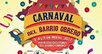 Cartel Carnaval barrio Obrero