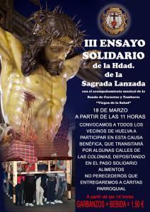 Ensayo solidario de La Lanzada