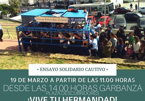 Ensayo solidario del Cautivo en Huelva
