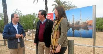 Partido Popular critica el cierre del Muelle de las Carabelas (2)