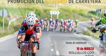Cartel del Trofeo Federación de ciclismo.
