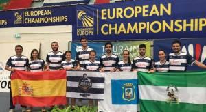 Recreativo IES La Orden en el Campeonato de Europa de 2016.