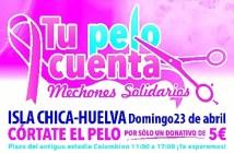 Cartel Dona Tu pelo Huelva huelva