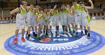 Andalucía, subcampeón de España mini de baloncesto.