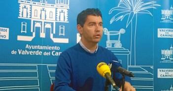 Manuel Cayuela, alcalde de Valverde del Camino
