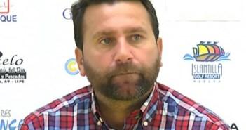 David Torres 'Chiqui', entrenador del San Roque de Lepe.
