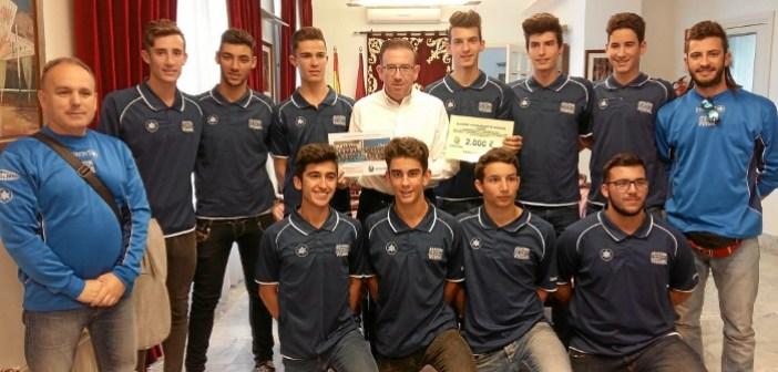 equipo completo juvenil voley recibe subvencion
