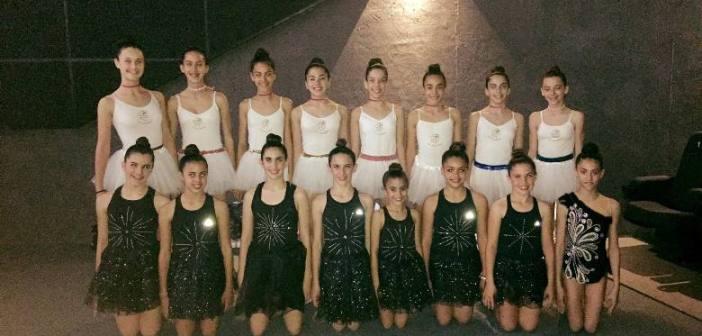 Bailarinas del Club Rítmico Colombino.