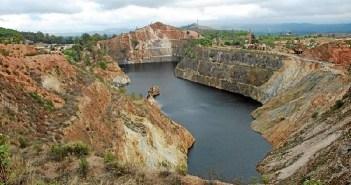 Corta minera de la Zarza. (Foto: Inma Orta)