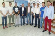 Homenaje de la Federación de Peñas al Recreativo de Huelva.