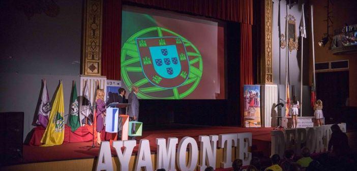 Inauguración de los Juegos Quelfes en Ayamonte.