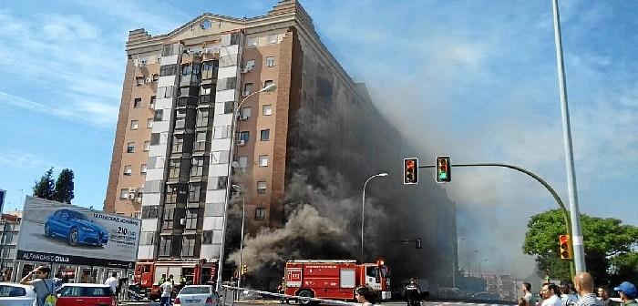 incendio bazar Huelva