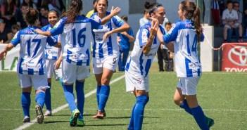 Jugadoras del Cajasol Sporting.