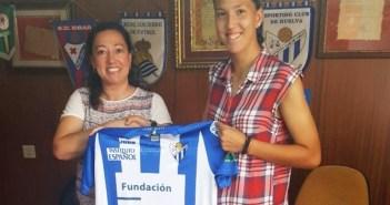 Cinta Rodríguez, jugadora del Cajasol Sporting.
