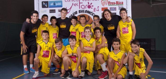CB Mazagón de minibasket.