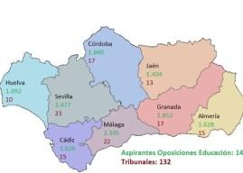 1.092 aspirantes en Huelva a una de las 14.314 plazas de maestro