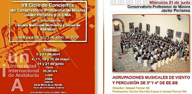 UNIA conciertos