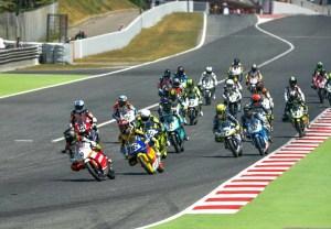 Carrera de motociclismo.