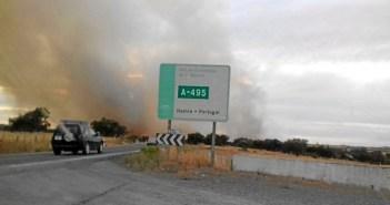 Incendio en Alosno