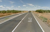 Nacional 435 en Trigueros