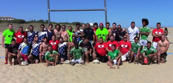 Rugby playa en Isla Cristina