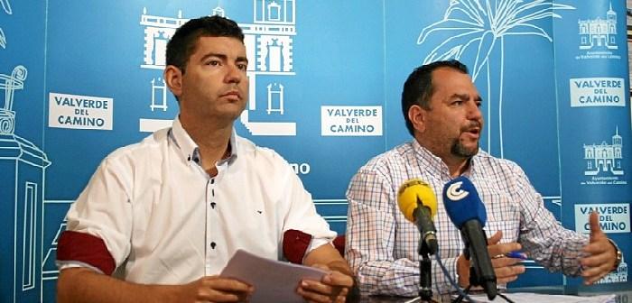Rueda de prensa en Valverde por deuda edificio empleo