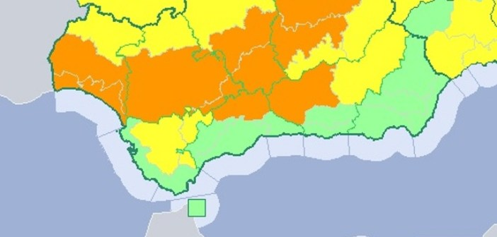 Alerta naranja en Huelva