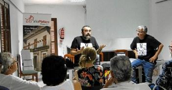 Con Pascual Rovira