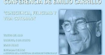 Conferencia Emilio Carrillo Cartel