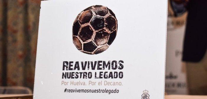 Lema de la campaña de abonos del Recreativo de Huelva para la temporada 2017/18.