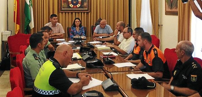 Junta local seguridad Feria Valverde