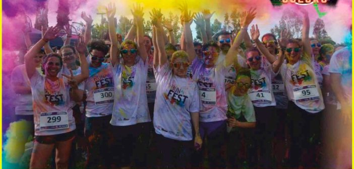 Carrera Huelva Music Run Colors