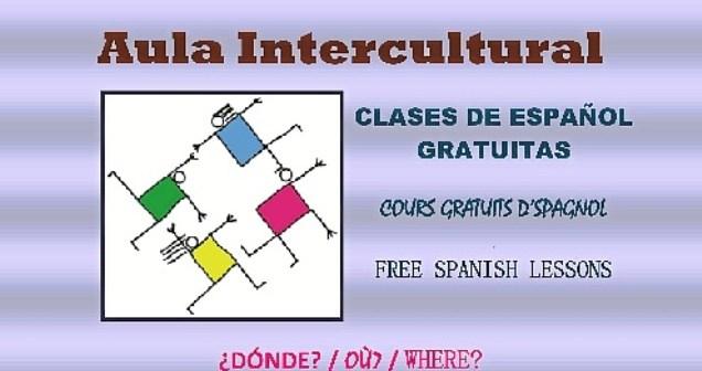 Cartel Aula Intercultural 2017-2018. Idiomas