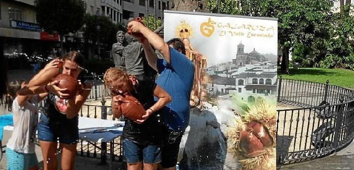 Galaroza presenta su tradicional fiesta en la plaza del Punto de Huelva (1)