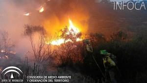 Incendio en La Granada de Riotinto (1)