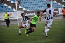 Rafa de Vicente, autor del gol del Recre. (Tenor)