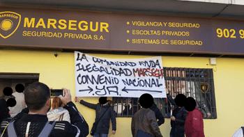 Protesta Marsegur