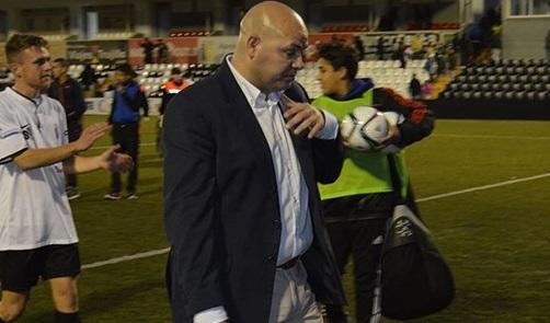 Cándido Rosado, nuevo entrenador del San Roque de Lepe.