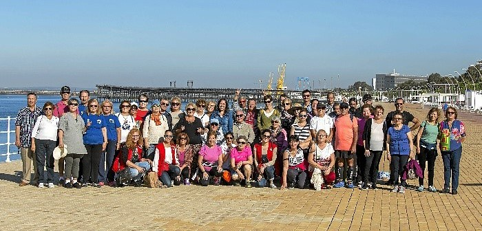 Grupo participante Paseo Saludable