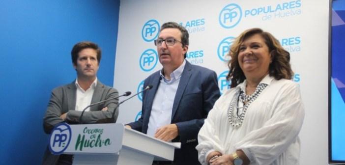 PP habla sobre el Presupuesto andaluz para Huelva