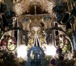 Simpecado de Isla Cristina de noche