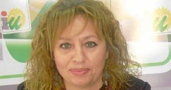 Victoria Caro, portavoz IU en Trigueros