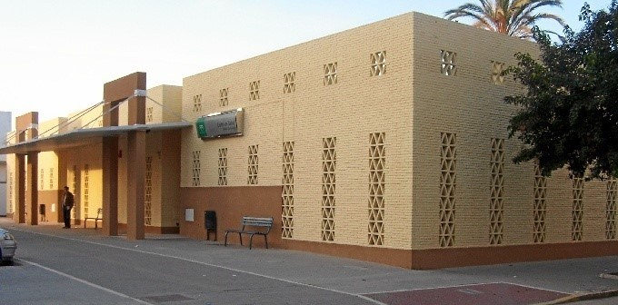 Centro de salud del Molino de la Vega, en Huelva capital.