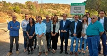 inicio obras carretera Cuenca