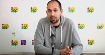 Daniel Martinez, portavoz IU Ayuntamiento de Almonte (1)