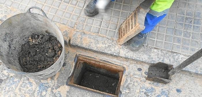 Limpieza imbornal Valverde