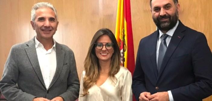 Natalia Santos y los consejeros Cultura y de Turismo