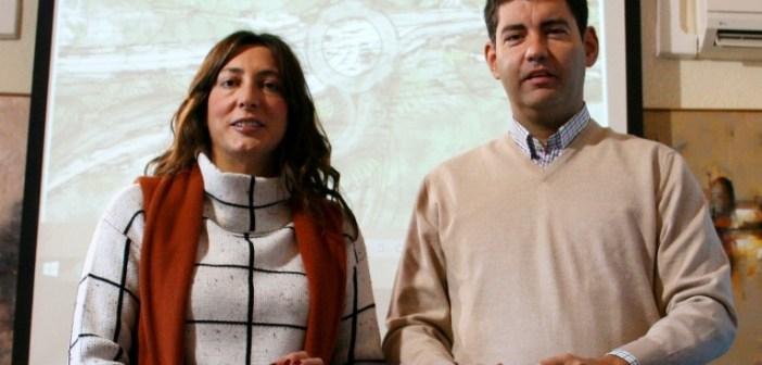 Rotonda Los Pinos en Valverde