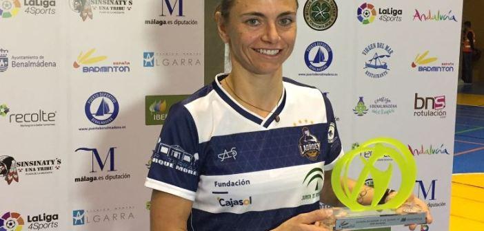 Telma Santos, jugadora del IES La Orden.