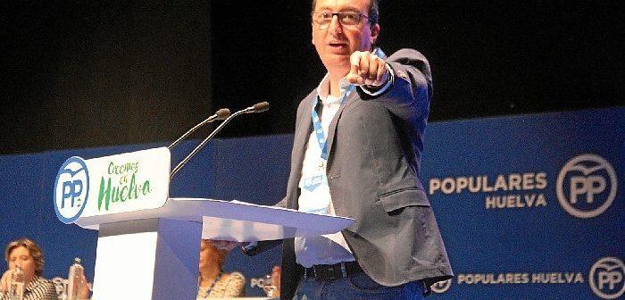 Manuel Andrés González ha sido reelegido como presidente provincial del PP onubense.